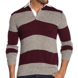 Slate & Stone pullover rugby sweater polo wool